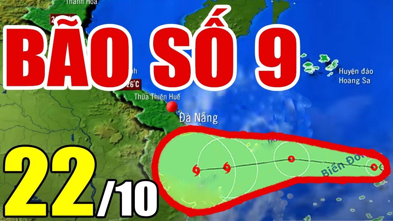Dự báo thời tiết ngày 22 tháng 10 năm 2021 | Dự báo thời tiết 3 ngày tới