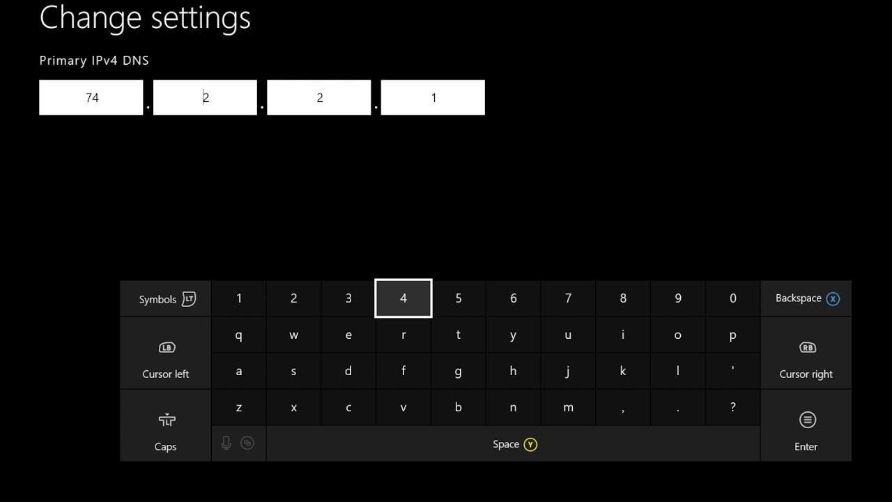 XBOX ONE Unblocking Setup Instructions (ProxyDNS)