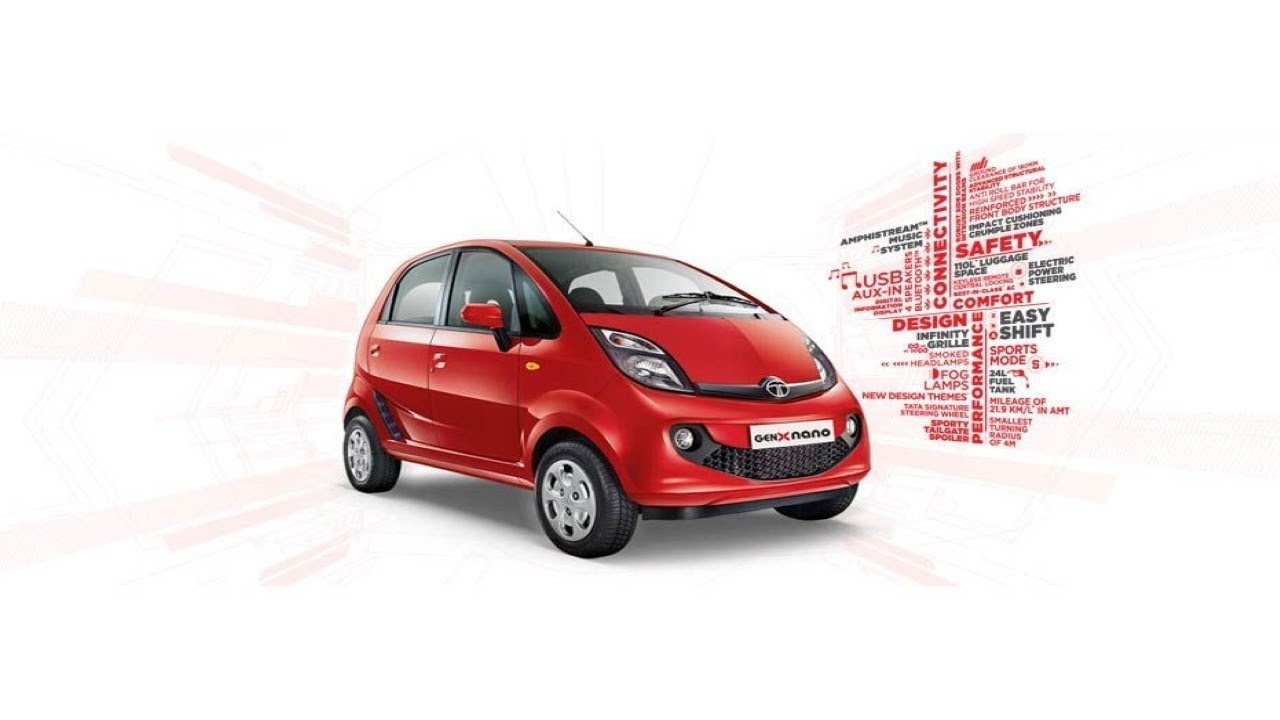 2018 Tata Nano Xm Interior And Exterior Of A Car Specifications And