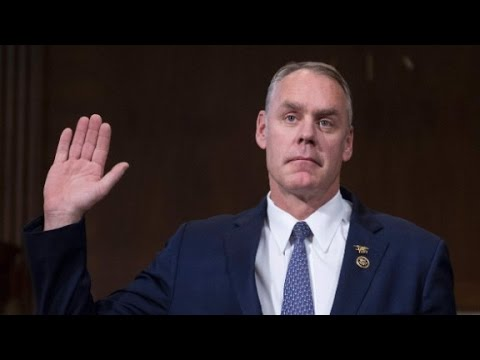 Ryan Zinke confirmed as interior secretary