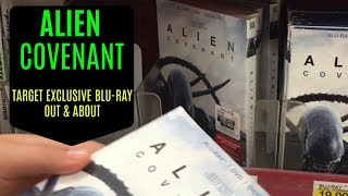 Alien Covenant Blu-Ray (Target Exclusive) Out & About