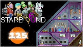 Starbound 1.3 - Строительство модельерной комнаты и читерство (с Frackin Universe) [#125]