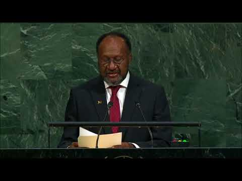 Vanuatu Support Decolonization of West Papua in UN General Assembly Session 72