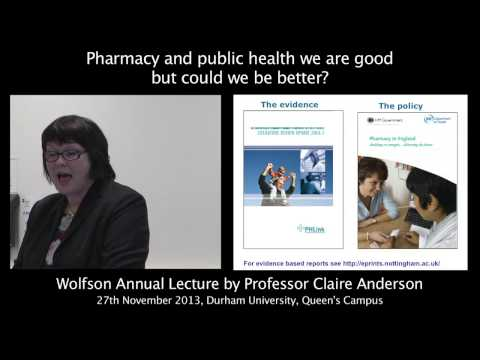 Pharmacy and Public Health: We Are Good But Could We Be Better?