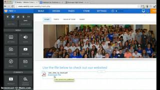Adding File or YouTube to Weebly