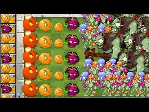 Plants vs. Zombies 2 New Citron vs Massive Zombie Attack!