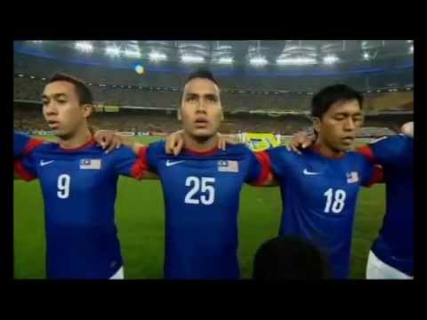 Indonesia & Malaysia - National Anthem Opening (2012)