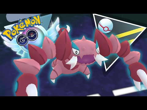 SHINY DRAPION IS REALLY STRONG IN ULTRA PREMIER | GO BATTLE LEAGUE
