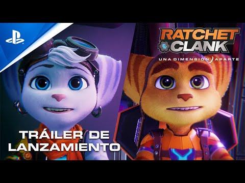 Ratchet and Clank: Una Dimensión Aparte - Tráiler de LANZAMIENTO PS5 en ESPAÑOL | PlayStation España