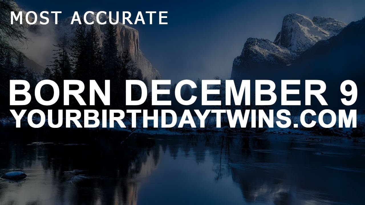 december 9 born numerology