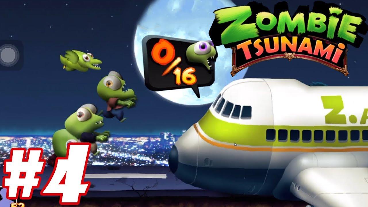 Trò chơi Con ma quậy phá Zombie Tsunami – chơi game kid lồng tiếng vui nhộn funny #4