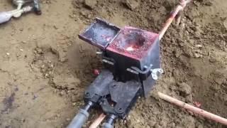 避雷針接地工程-火泥熔接