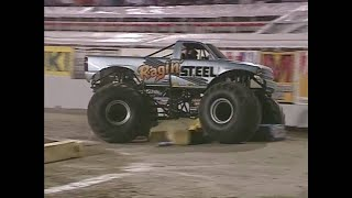 Freestyle Ragin Steel Monster Jam World Finals 2001