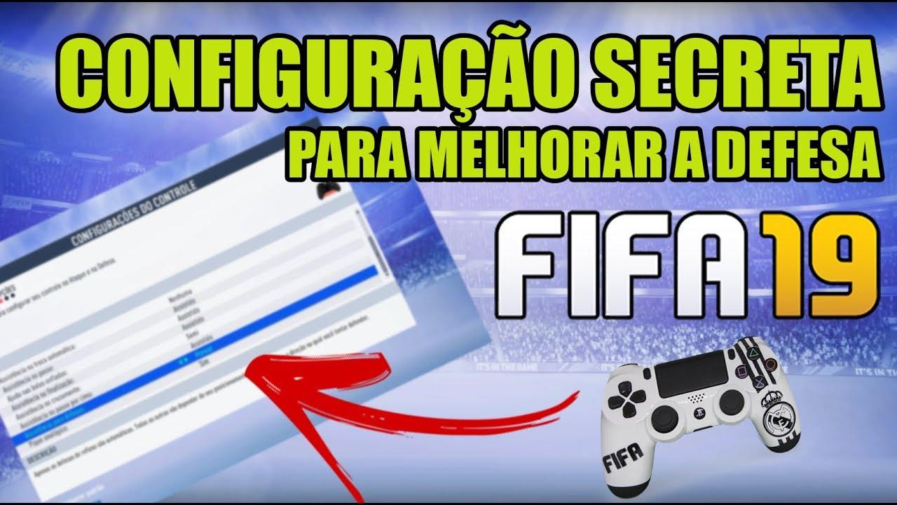 CONFIGURAÇÃO SECRETA PARA MELHORAR A DEFESA| FIFA 19 ULTIMATE TEAM