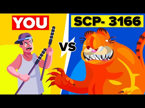 You vs SCP-3166 (You Have No Idea How Alone You Are, Garfield)