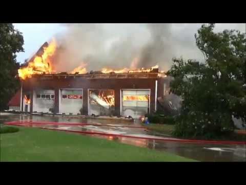 Gwinnett House Fire - Dacula - July 4, 2017 | RAW VIDEO