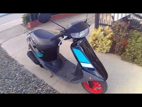 HONDA DIO AF18 1990 (Restauración de moto scooter) PUNTA ARENAS - CHILE
