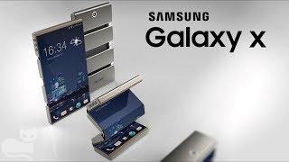 Samsung Galaxy X  Smartfon ze składanym ekranem!