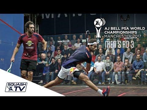 Squash: AJ Bell PSA World Championships 2017 - Men\'s Last 16 Roundup