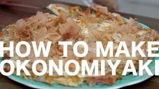 How to Make Okonomiyaki by : Simon and Martina