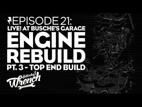 Saturday's Wrench Ep.21: Top End Rebuild - Honda CB350 Build