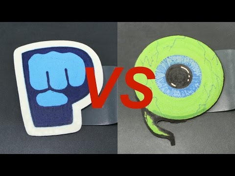 Thumbnail: PewDiePie vs Jacksepticeye Epic Pancake Battle