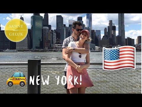 Onthaasten in NEW YORK??!! Sanny zoekt Geluk