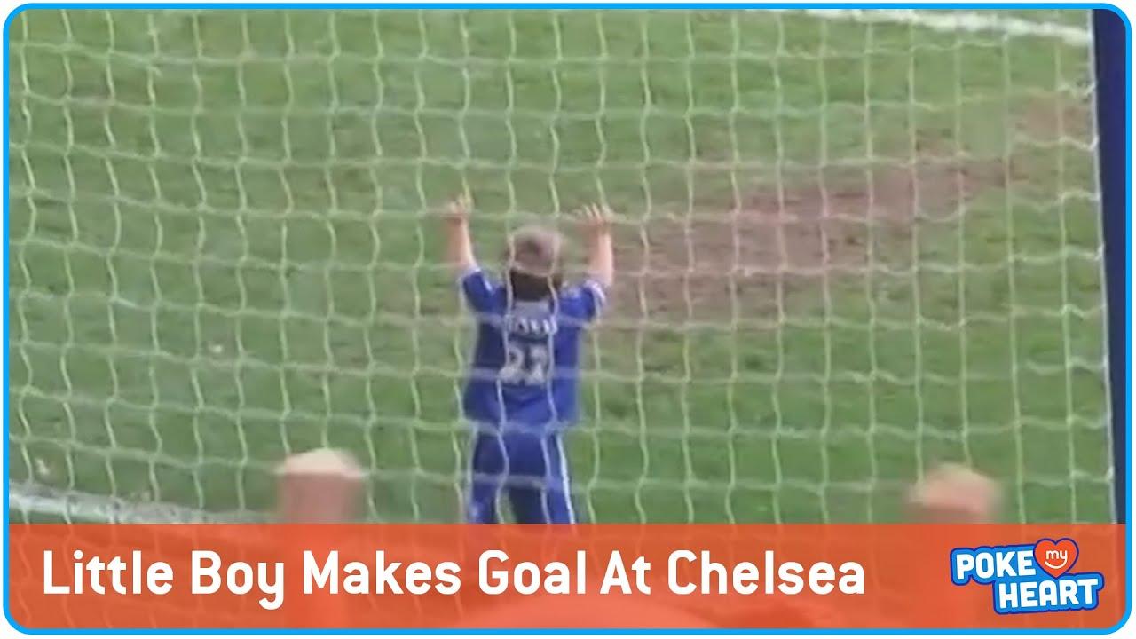 Little Boy Scores Football Goal | Mini Ross Turnbull