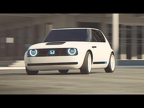 Honda Urban EV Electric Driving Video World Premier New Honda Concept Frankfurt Motorshow 2017 IAA
