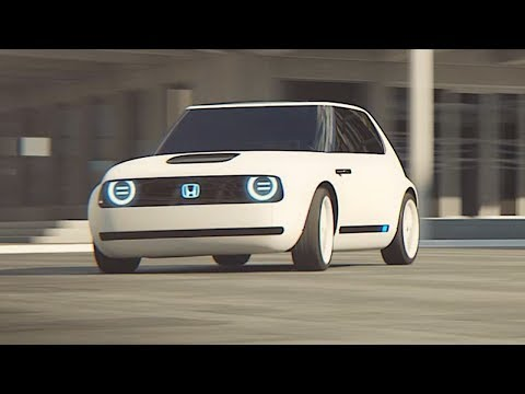 Honda Urban EV Electric Driving Video World Premier New Honda Concept Frankfurt Motorshow 2017 IAA