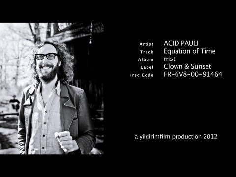 Acid Pauli - Equation of Time (Official Music Video HD 2012)