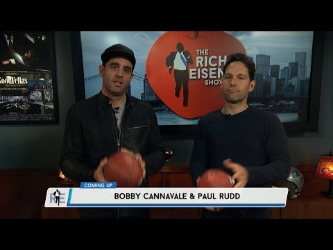 Actors Paul Rudd & Bobby Cannavale Joins The RE  in Studio  5917