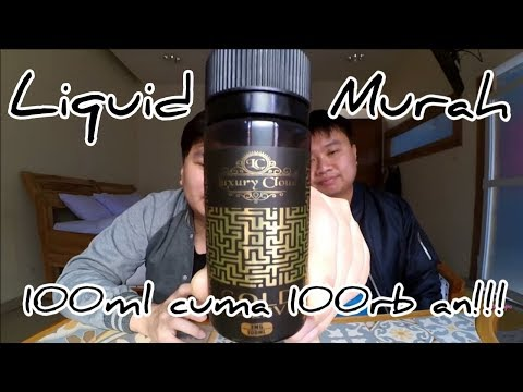 Yuk Vape - review liquid lokal indonesia Luxury Cloud Gold Reserve 100ml 3mg