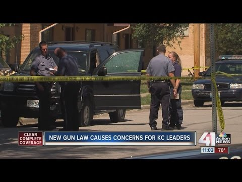 New gun law causes concerns for KC leaders