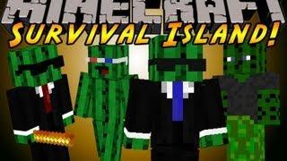 Minecraft Mini Series - Survival Island (EP1) Hosted by Maxmutinium