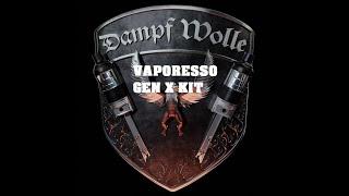 VAPORESSO GEN X KÏT deutsch E Zigarette