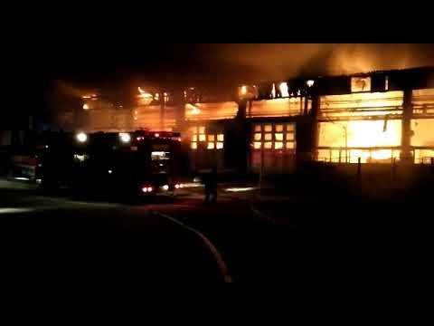 Incendiu Tulcea la SC Transport Public