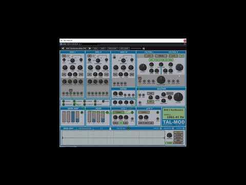 TAL MOD Particular Sound Factory Presets