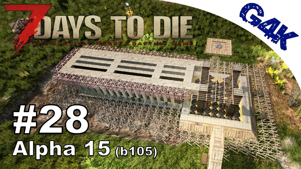 Days To Die Building Alpha