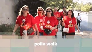 polio walk