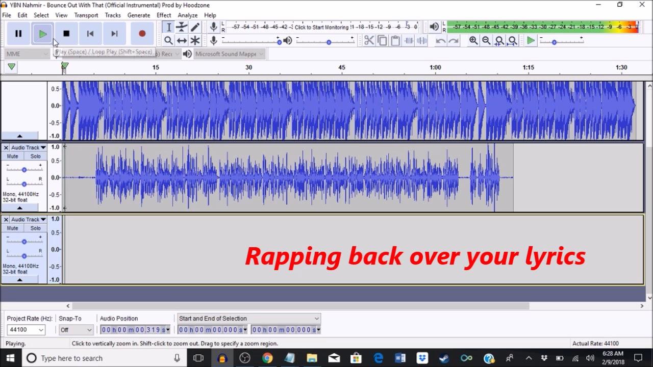 2018 Audacity Effects Tutorial (Hip Hop and Rap)
