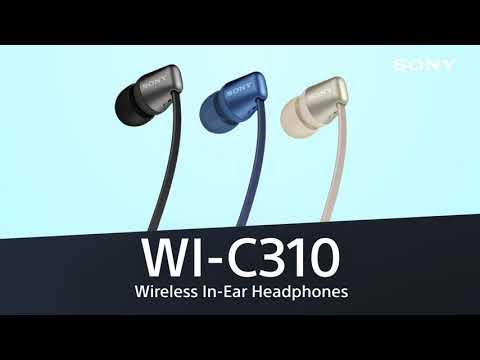 Sony WI-C310 In-ear Bluetooth Handsfree Λευκό