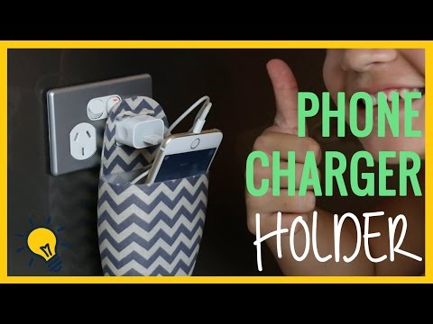 Angelina's DIY  l  Phone Charger Holder
