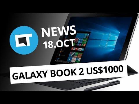 Samsung Galaxy Book 2; App tester o YouTube; Novidades no Spotify e+ [CT News]