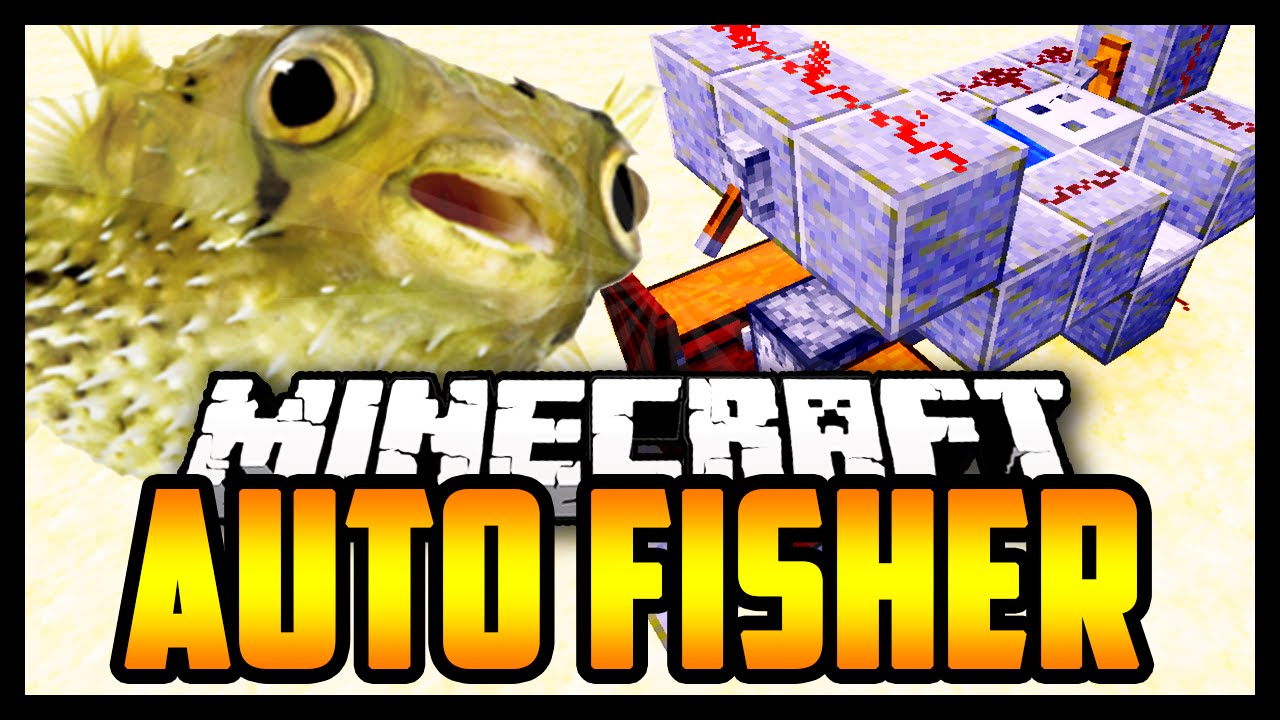 EASY Automatic Fishing Farm Minecraft 1.9 Tutorial. (How ...