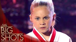 Meet 10 Year Old Taekwondo Champion Channah Zeitung   Little Big Shots