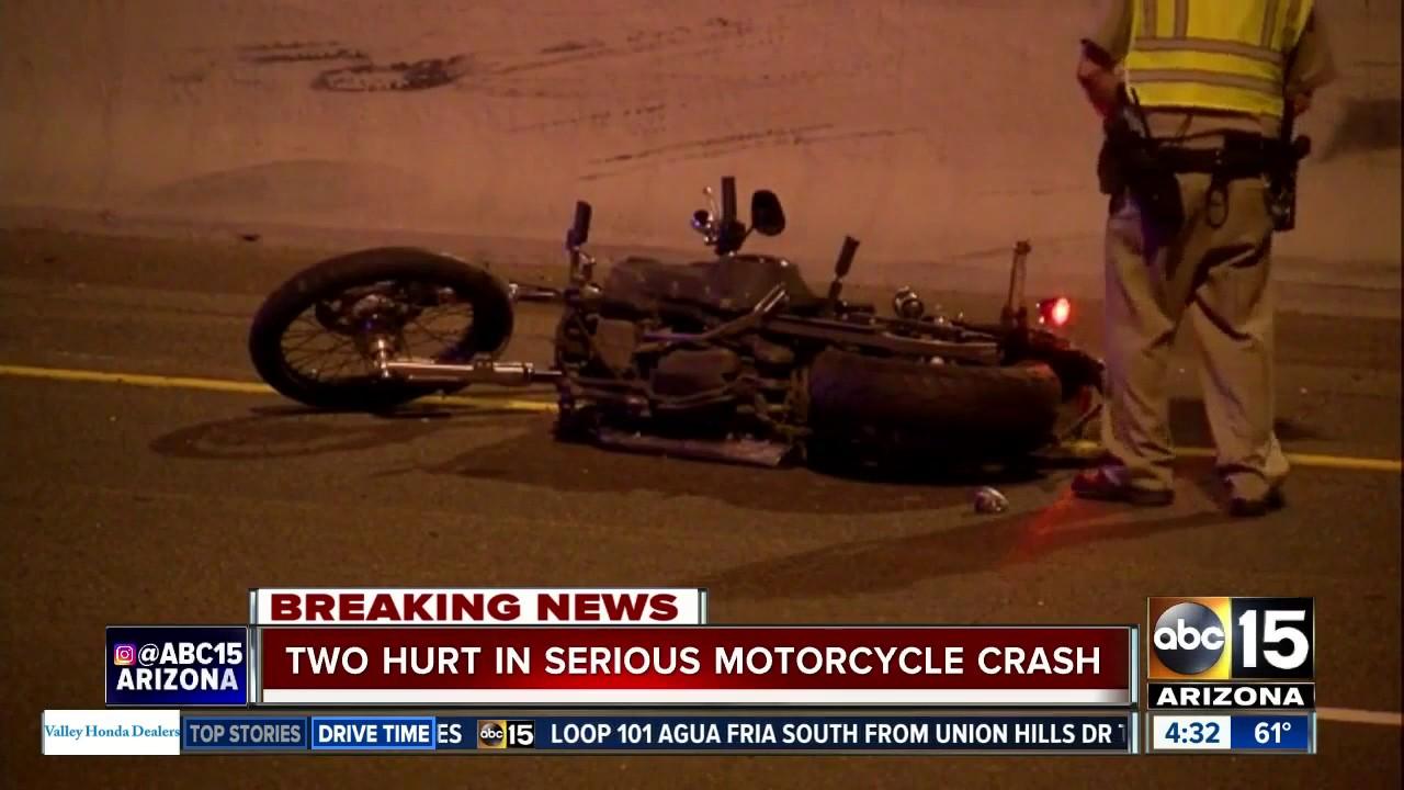 Motorcycle crash closes WB US-60 to WB I-10