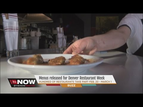 Menus released for Denver Restaurant Week 2015