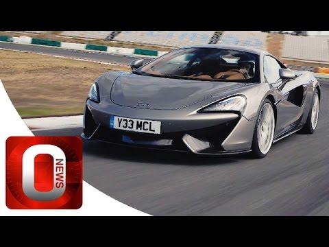 McLaren 570S Coupé • On Racetrack • Good Exhaust Sound [HD] (Option Auto News)