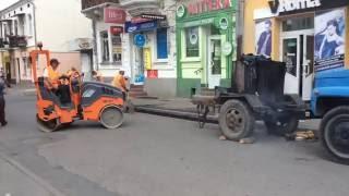 Поточний ремонт вулиці Ринок